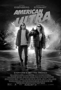 "American Ultra Black and White Poster 24""x36"""