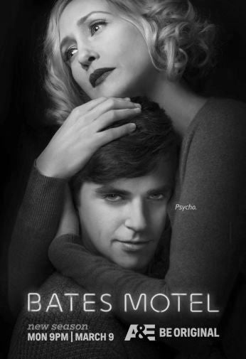 Bates Motel Poster Black and White Mini Poster 11