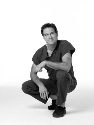 Dr. Oz Black and White Poster 24