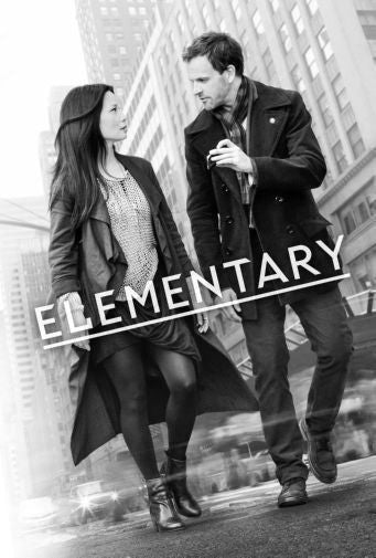 Elementary Poster Black and White Mini Poster 11