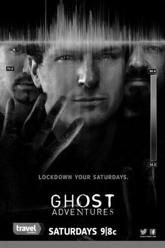 Ghost Adventures black and white poster