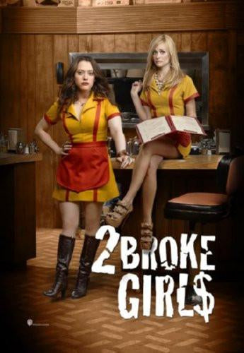 2 Broke Girls poster tin sign Wall Art