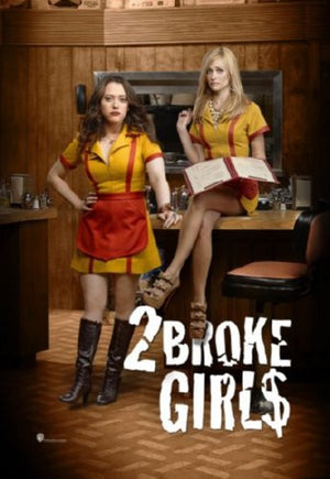 2 Broke Girls Mini poster 11inx17in