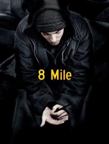 8 Mile Movie poster 24inx36in Poster 24x36 - Fame Collectibles