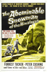 Abominable Snowman The Movie poster 27inx40in Poster 27x40