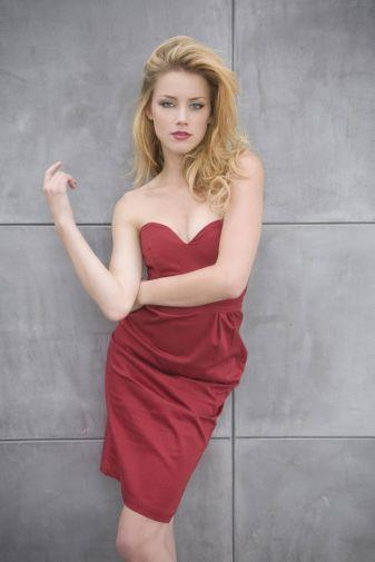 Amber Heard Photo Sign 8in x 12in