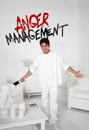 Anger Management Charlie Sheen poster tin sign Wall Art