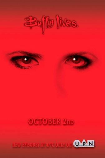 Buffy The Vampire Slayer Buffy Lives poster 27x40| theposterdepot.com