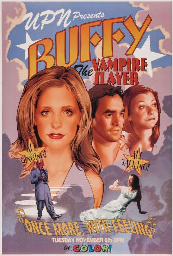 Buffy The Musical Mini poster 11inx17in