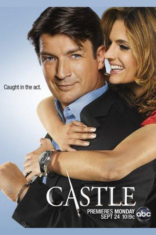 Castle Nathan Fillion poster 27x40| theposterdepot.com