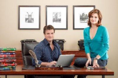 Castle Poster 24inx36in Fillion Katic 24x36 - Fame Collectibles