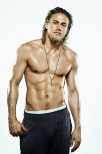 "Charlie Hunnam poster 24""x36"""