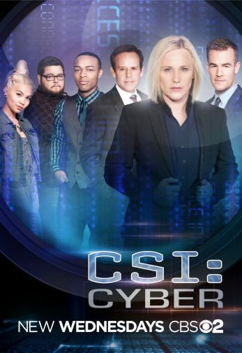Csi Cyber Mini poster 11inx17in