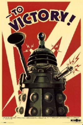 Dalek To Victory Poster 16