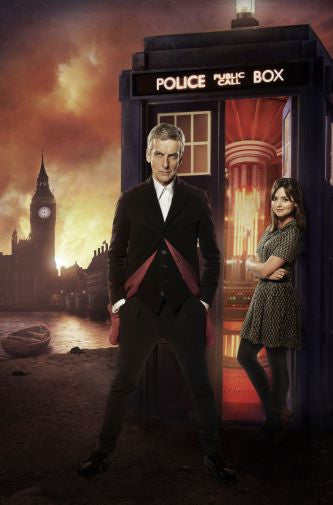 Peter Capaldi Doctor Who Mini poster 11inx17in