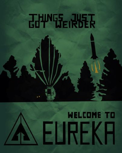 Eureka Mini poster 11inx17in