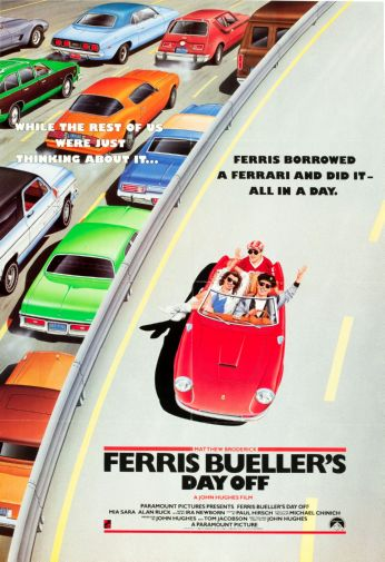 (11inx17in) Ferris Buellers Day Off Movie Poster Print