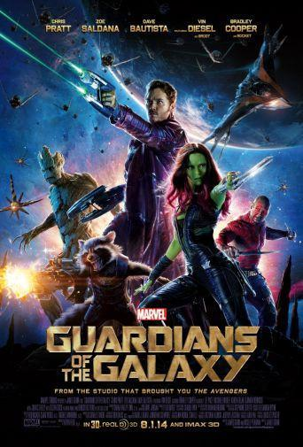 Guardians Of The Galaxy Movie poster 24inx36in Poster 24x36 - Fame Collectibles