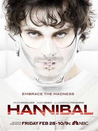 Hannibal Poster 11Inx17In Mini Poster