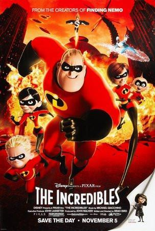 The Incredibles Movie Poster 24inx36in - Fame Collectibles