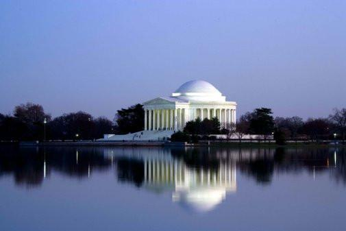 Jefferson Memorial Poster 24inx36in Poster 24x36 - Fame Collectibles