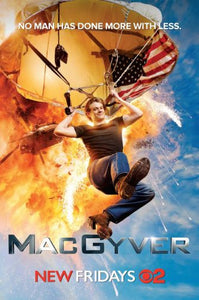 "Macgyver Poster 16""x24"" On Sale The Poster Depot"