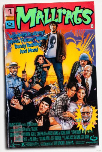 Mallrats Movie Poster 11inx17in Poster Art decor