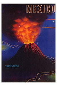 Mexico Volcano Mini poster 11inx17in