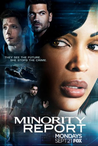 Minority Report Mini poster 11inx17in