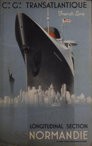 France Cruise Line poster tin sign Wall Art
