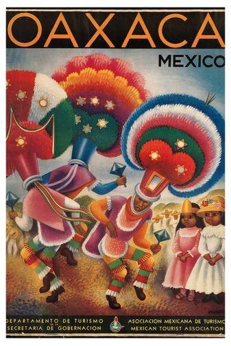 Mexico Tourism poster tin sign Wall Art