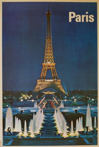 Paris Mini poster 11inx17in