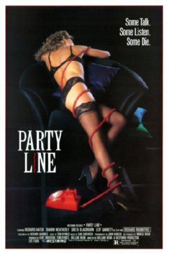 Party Line movie poster Sign 8in x 12in