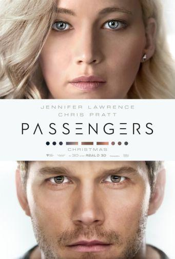 Passengers movie poster Sign 8in x 12in