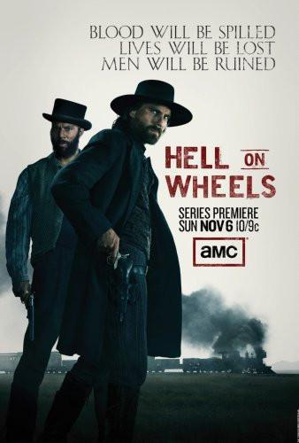 Hell On Wheels Movie Poster 16x24 - Fame Collectibles
