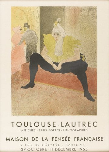 Toulouse Lautrec Exhibition Poster 16