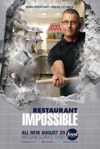 Restaurant Impossible Photo Sign 8in x 12in