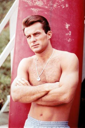 robert conrad poster tin sign Wall Art
