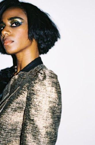 Santigold poster tin sign Wall Art