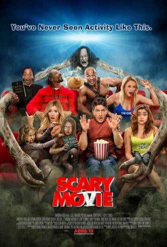 scary movie 5 poster tin sign Wall Art
