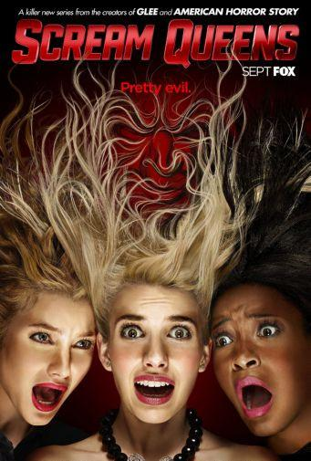 Scream Queens poster tin sign Wall Art