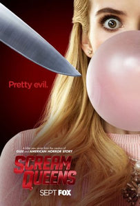 Scream Queens Mini poster 11inx17in