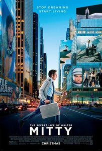 Secret Life Of Walter Mitty Movie Poster 24Inx36In Poster 24x36 - Fame Collectibles