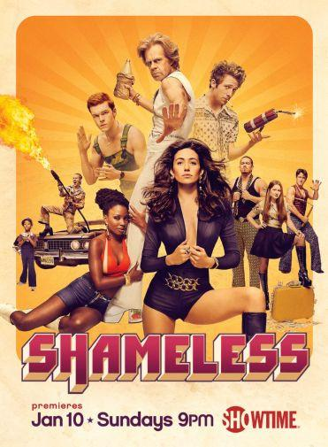 Shameless poster tin sign Wall Art
