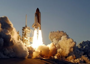 Space Shuttle Launch mini poster 11x17 #01