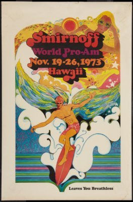 Surfing Competion Vintage Art mini poster 11x17 #01 Replica