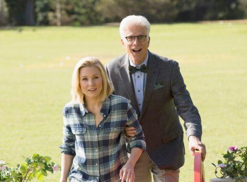 The Good Place poster tin sign Wall Art
