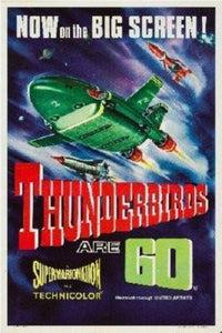 Thunderbirds Are Go Poster 16inx24in - Fame Collectibles