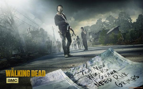 The Walking Dead Poster Rick Grimes| theposterdepot.com