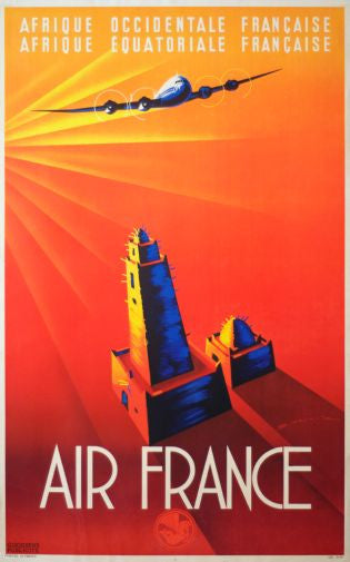 Air France poster| theposterdepot.com